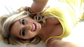 Blonde Babe's Anal Celebration - Lets Try Anal