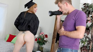 Grad Day - Lets Try Anal
