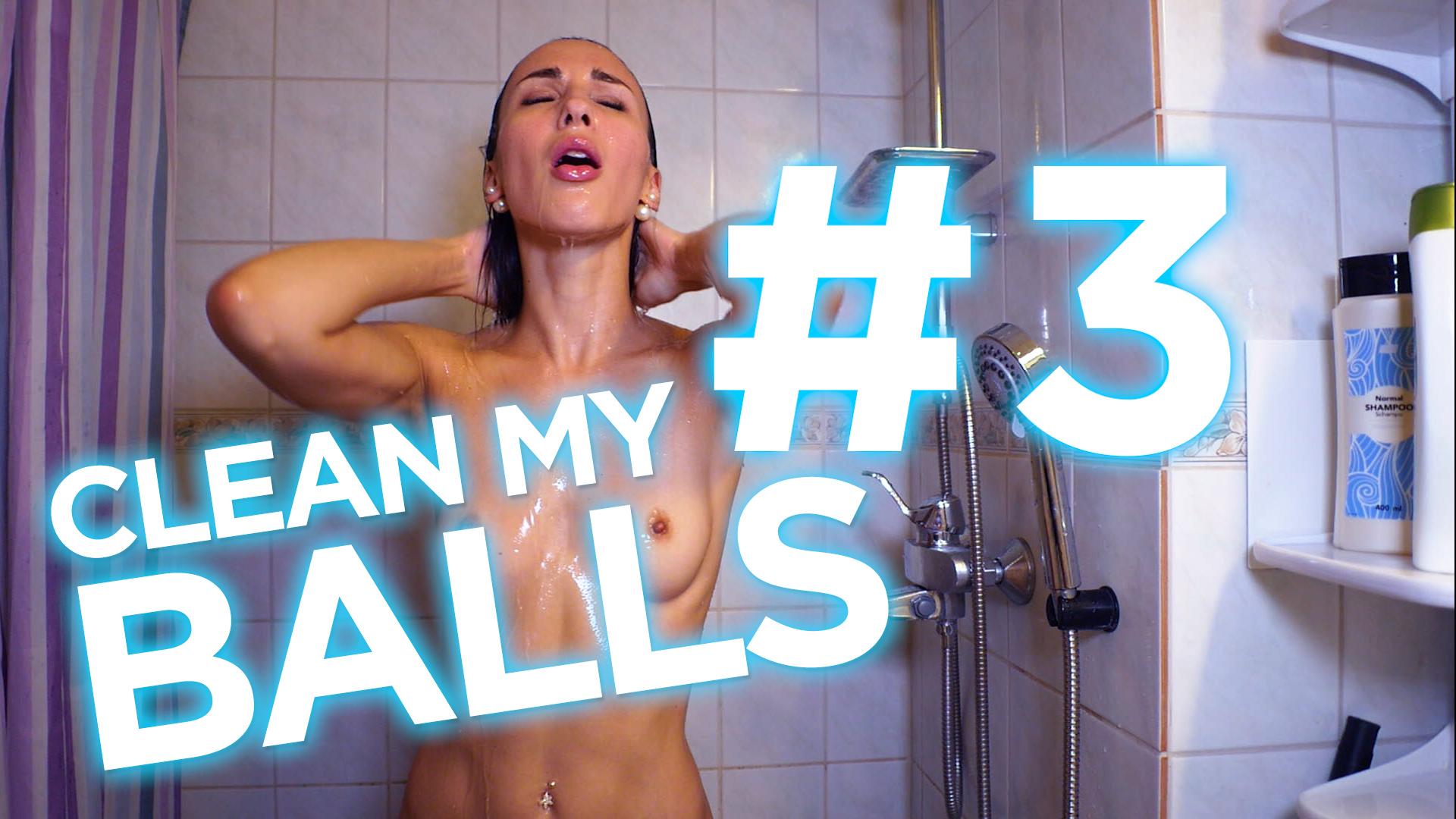 Clean my balls #3 - SWEETYX